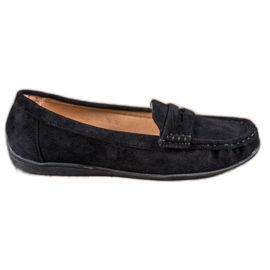 Sixth Sense Wildleder Slipper schwarz