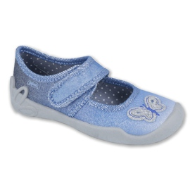 Blau Befado Kinderschuhe 123X035