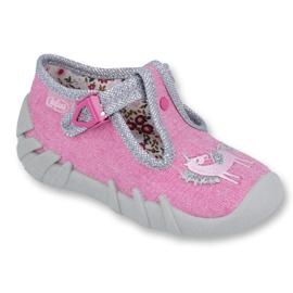 Pink Befado Kinderschuhe 110P360