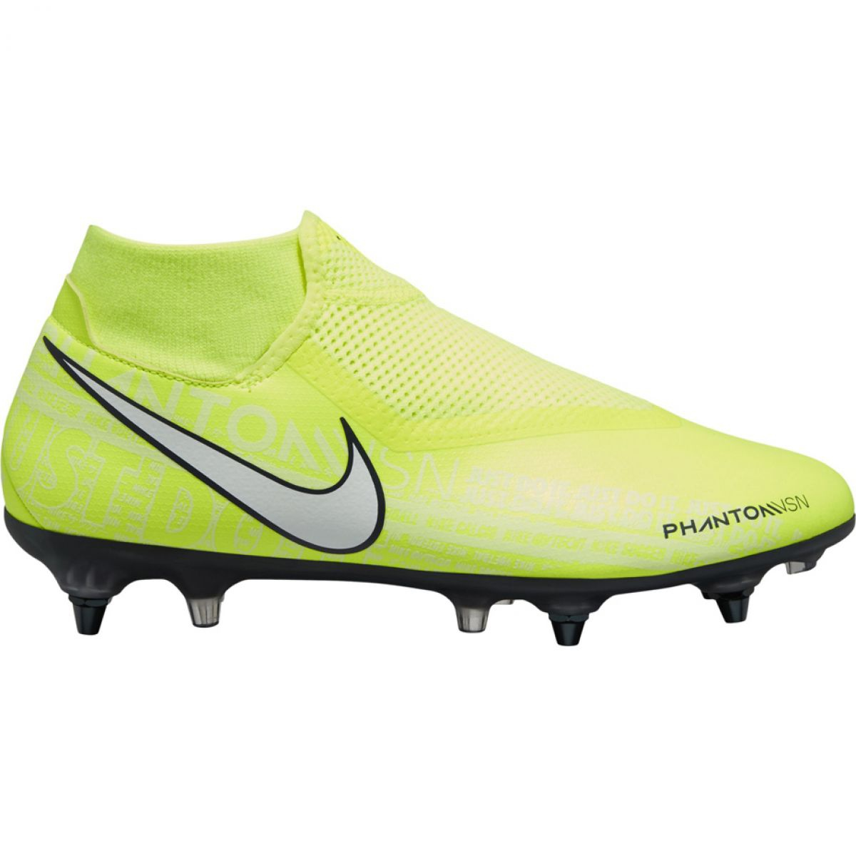 Nike Phantom Vsn Academy Df Sg Pro Ac M Bq8845 717 Fussballschuhe Gelb Gelb