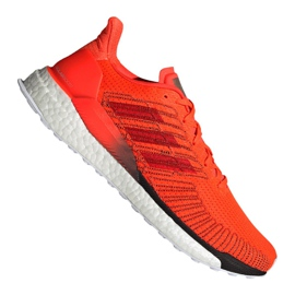 Orange Adidas Solar Boost 19 M G28462 Laufschuhe