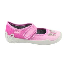 Pink Befado Kinderschuhe 123X038