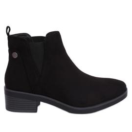Schwarz Jodhpur Stiefel schwarz 8B978 Schwarz