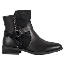 SDS Schwarze Frauen Stiefel