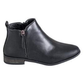 Cm Paris schwarz Klassische Stiefel