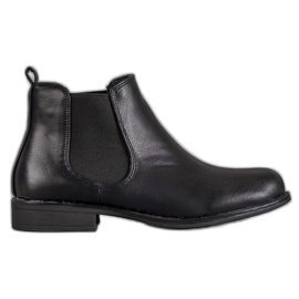 Small Swan schwarz Klassische Jodhpur Stiefel