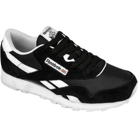 Schwarz Reebok Classic Nylon Jr J21506 Schuhe