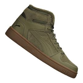 Grün Puma Rebound LayUp SD Fur M 369831-03 Schuhe