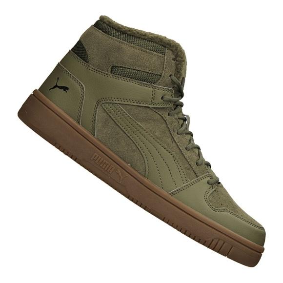 Puma Rebound LayUp SD Fur M 369831-03 Schuhe grün