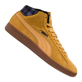 Puma Smash v2 Mid Wtr M 366810-03 Schuhe braun