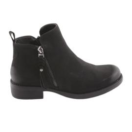Schwarze Stiefel Sergio Leone 554