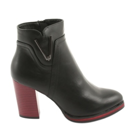 Schwarze Stiefel Sergio Leone 537
