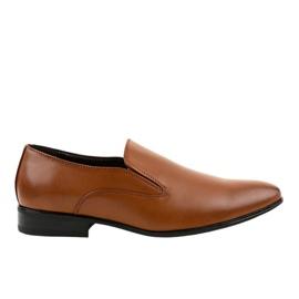 Braune elegante Slipper 6-317
