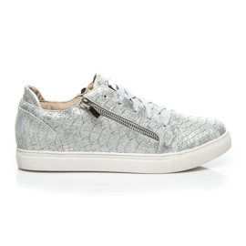 Vices grau Silber Fashion Sneakers
