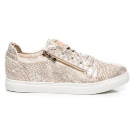Vices Gold Fashion Turnschuhe gelb