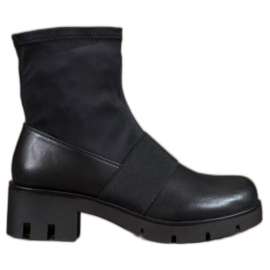 Erynn Jodhpur Stiefel mit Schnallen schwarz