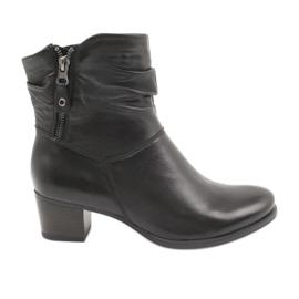 Caprice 25347 Reißverschluss schwarze Stiefel