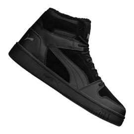 Puma Rebound LayUp SD Fur M 369831-01 Schuhe schwarz