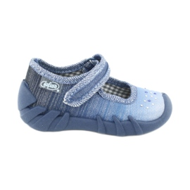 Befado Kinderschuhe 109P186 blau