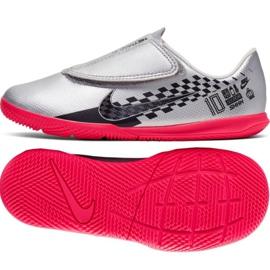 Nike Mercurial Vapor 13 Club Ic Jr AT8171-006 Schuhe grau / silber grau