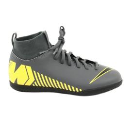 Indoor Schuhe Nike Mercurial Superfly X 6 Club Ic Jr AH7346-070 grau