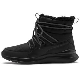 Puma Adela Winterstiefel W 369862 01 Schuhe schwarz