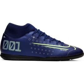 Nike Mercurial Superfly 7 Club Mds Ic Jr BQ5417-401 Hallenschuhe marineblau marine
