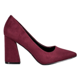 Burgunder VICES Pumps rot