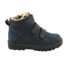 Timberki-Stiefel mit Klettverschluss American Club GC40 marine