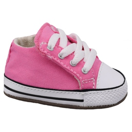 Pink Converse Chuck Taylor All Star Cribster Jr 865160C Schuhe