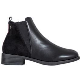 Filippo Klassische schwarze Stiefeletten