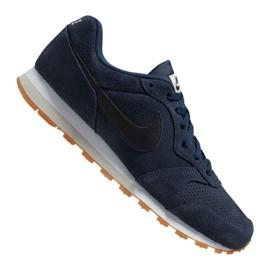 Nike Md Runner 2 Suede M AQ9211-401 Schuhe marine