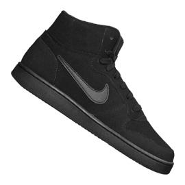 Nike Ebernon Mid Se M AQ8125-003 Schuhe schwarz