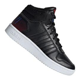 Adidas Hoops Mid 2.0 Jr EE8547 Schuhe schwarz