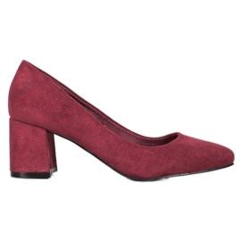 Vinceza Burgunder-Schuh rot