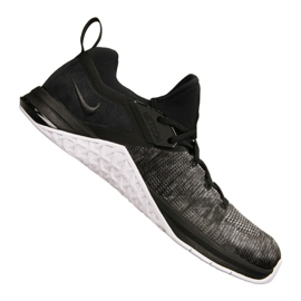 Schwarz Nike Metcon Flyknit 3 M AQ8022-001 Schuhe