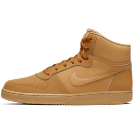 Nike Ebernon Mid Se M AQ8125-701 Schuhe braun