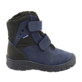 Stiefel mit einer Membran Mazurek 1352 Marineblau