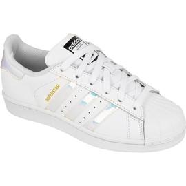 Adidas Originals Superstar Jr AQ6278 Schuhe weiß