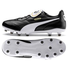 Puma King Top Fg M 105607 01 Fußballschuhe schwarz schwarz