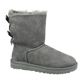 Ugg Bailey Bow II W 1016225-GREY Schuhe grau