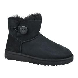 Ugg Mini Bailey Button II W 1016422-BLK Schuhe schwarz