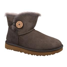 Ugg Mini Bailey Button II Schuhe W 1016422-MOLE braun