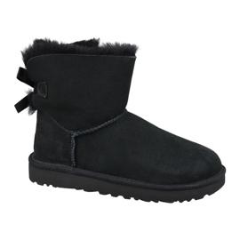 Ugg Mini Bailey Bow II W 1016501-BLK Schuhe schwarz