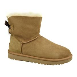 Ugg Mini Bailey Bow II W 1016501-CHE Schuhe braun