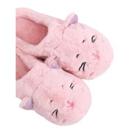 MA16 Pink Damen Hausschuhe Pink