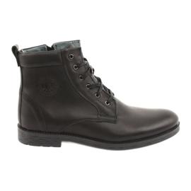 Hohe Stiefel mit Reißverschluss Riko 884 schwarz