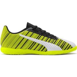 Puma One 5.4 It M 105654 04 Fußballschuhe gelb weiß, schwarz, gelb