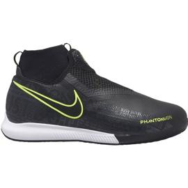 Nike Phantom Vsn Academy Df Ic Jr AO3290 007 Fußballschuhe schwarz schwarz