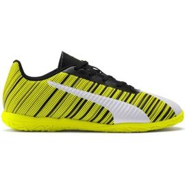 Puma One 5.4 It Jr 105664 04 Fußballschuhe weiß, schwarz, gelb gelb